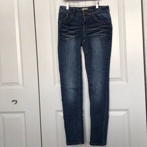 Mudd girls 16R adjustable waist skinny jeans